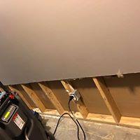walling in progress