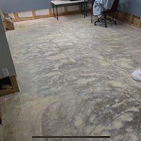 concreate floor