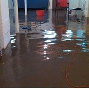 water draining